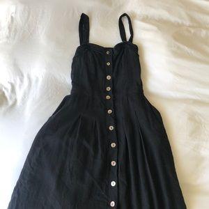 FREE PEOPLE linen dress